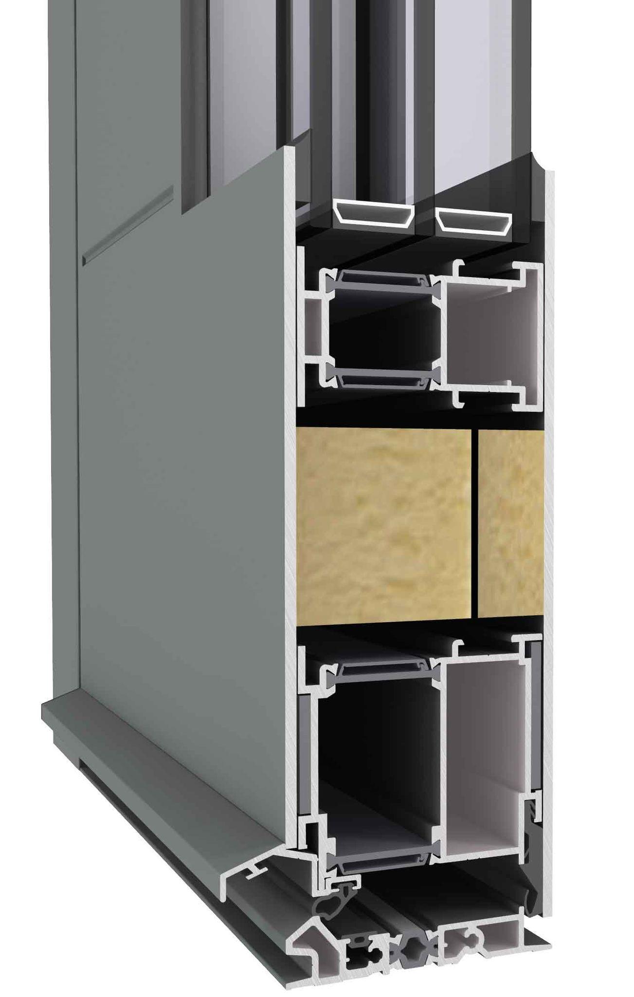 Turhaus High Insulated Entrance Door - Turhaus Aluminium Front Doors