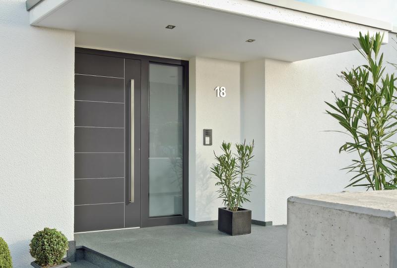 Aluminium Front Door - Turhaus Aluminium Front Doors